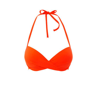 Twistiz orange bikini top orange.