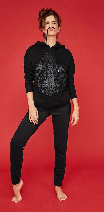 Tatugiz black sweatshirt black.