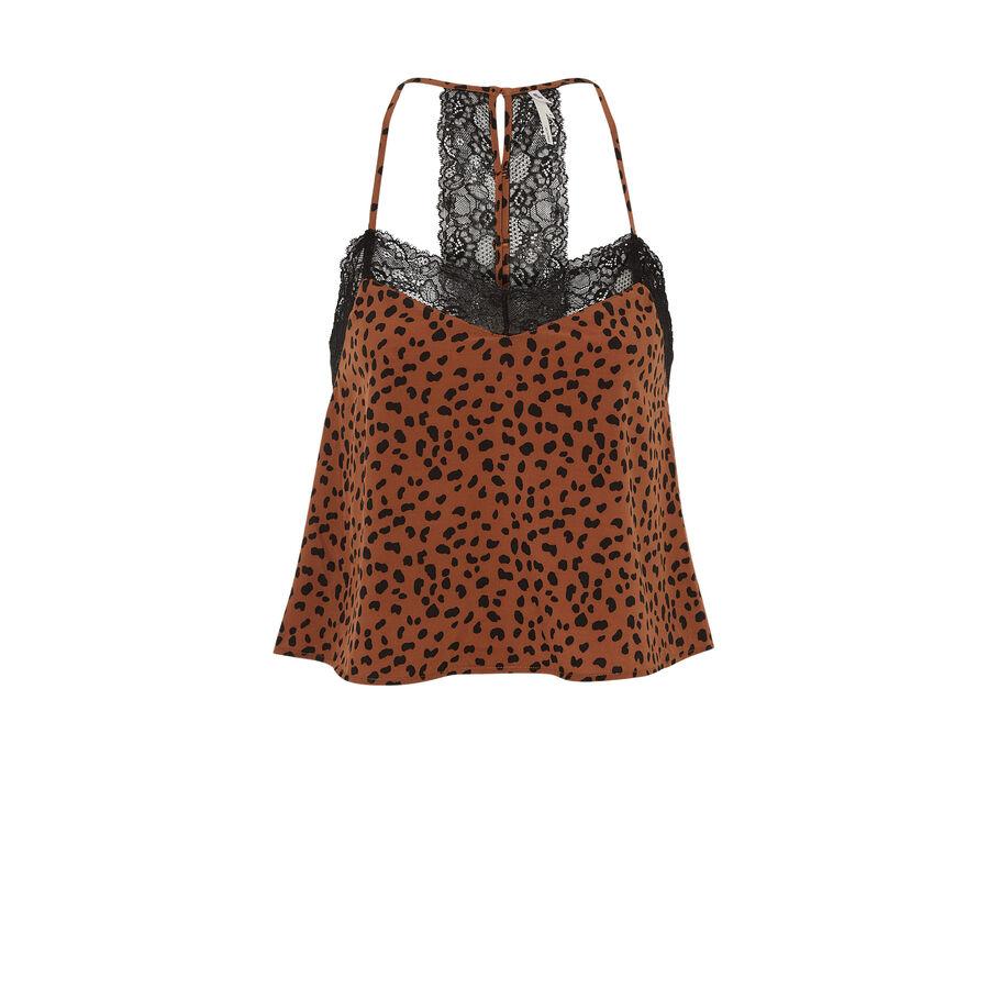 Tachetiz brown top;${refinementColor}