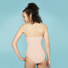 Pinupiz pale pink bodysuit pink.