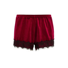 Faujeaniz burgundy shorts.