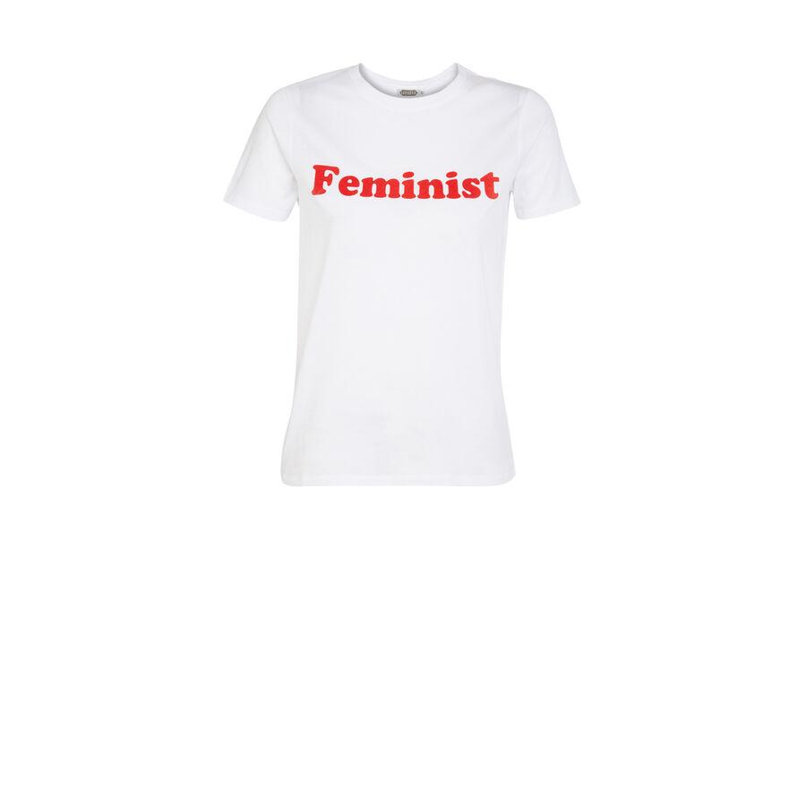 Feminiz white top;${refinementColor}