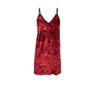 Veslipiz burgundy dress;${refinementColor}