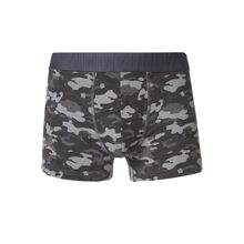 Militariz black boxer shorts black.