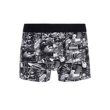 Crashiz black boxer shorts black.