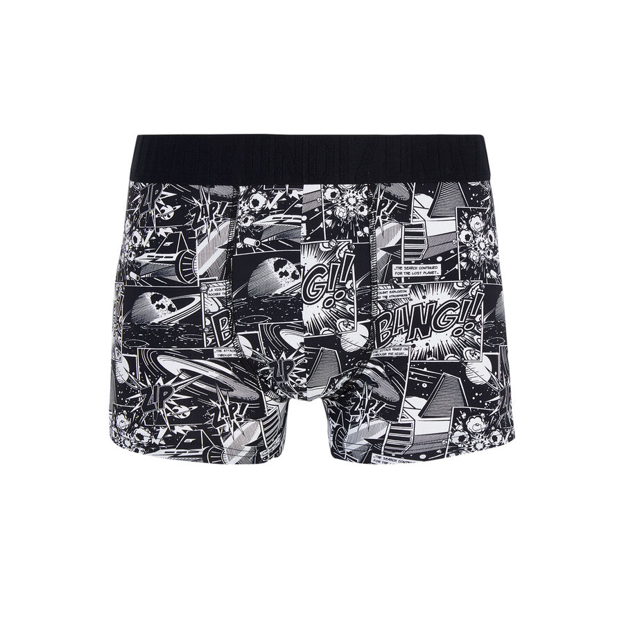 Crashiz black boxer shorts;${refinementColor}