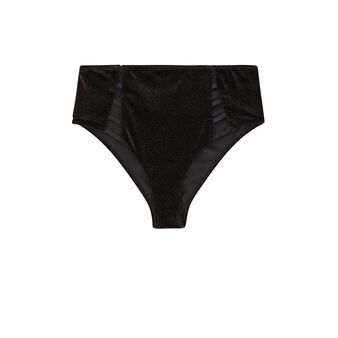 Baciluciz black high-rise briefs black.