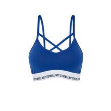 Funpoweriz blue bra blue.
