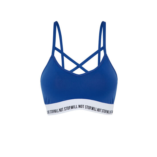 Funpoweriz blue bra;