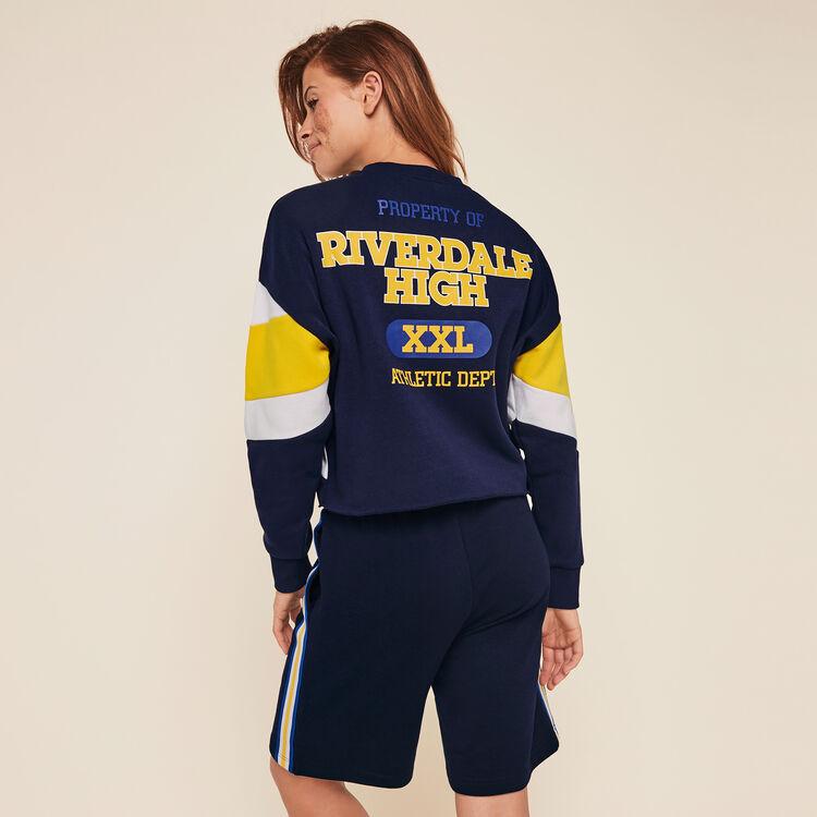 Riverdaliz licensed Riverdale round neck sweatshirt;