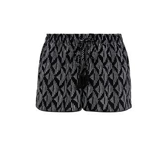 Pomgeoliz black shorts black.