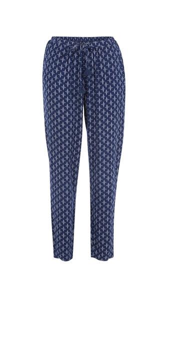 Pantalon bleu foncé polipiz blue.