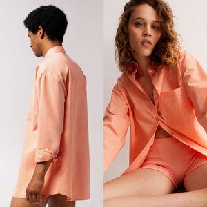 unisex shirt - peach