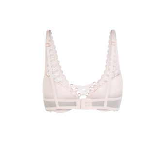 Modiz powdered pink foulard push-up bra różowy.