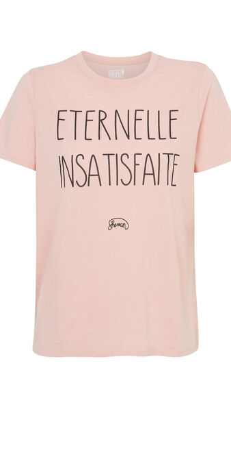 Top eternelliz zartrosé pink.