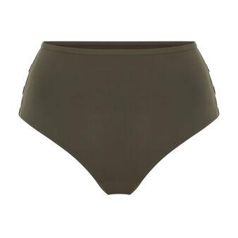 Festivaliz khaki high-waisted underwear green.