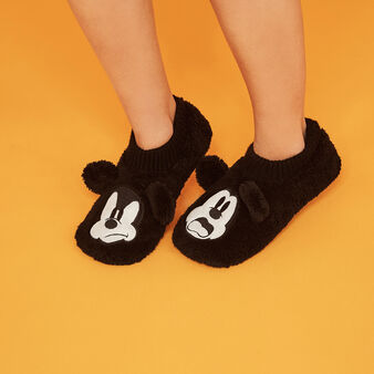 Chaussons noirs fouliz black.