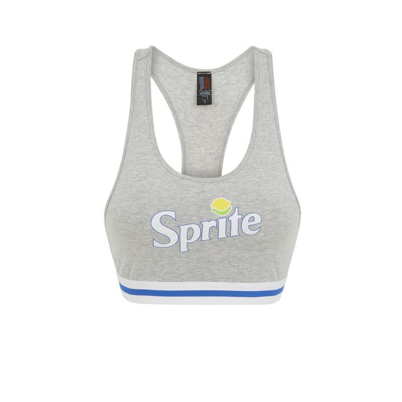 Spritesodiz grey crop top;