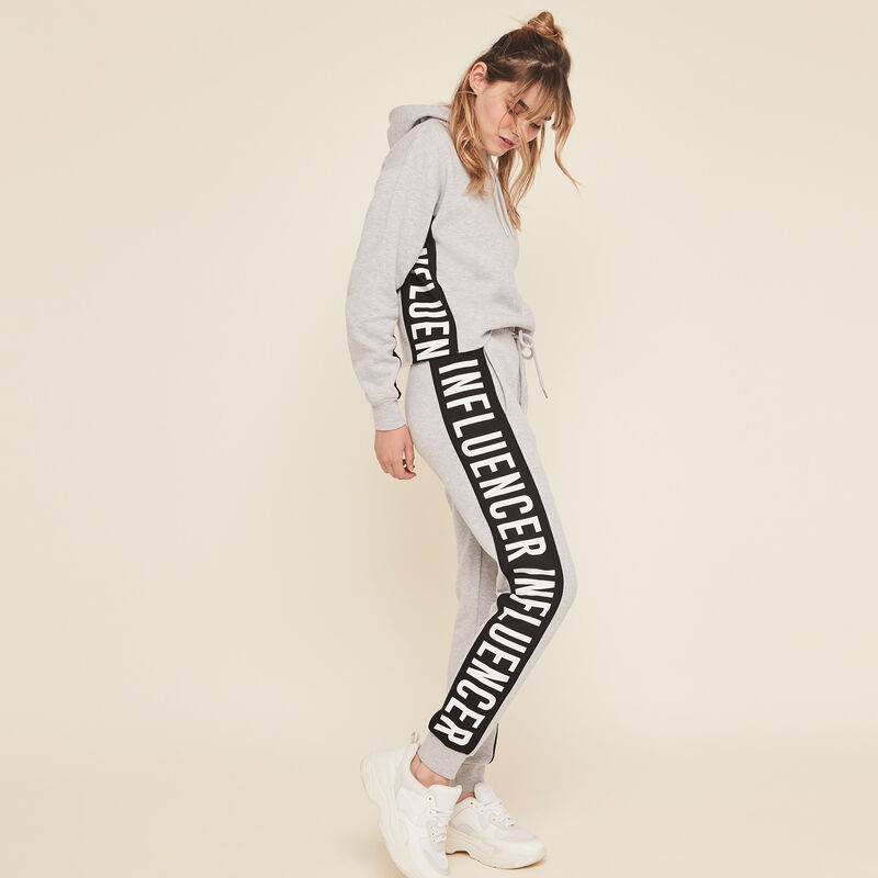 Hellovibiz trousers with side bands;