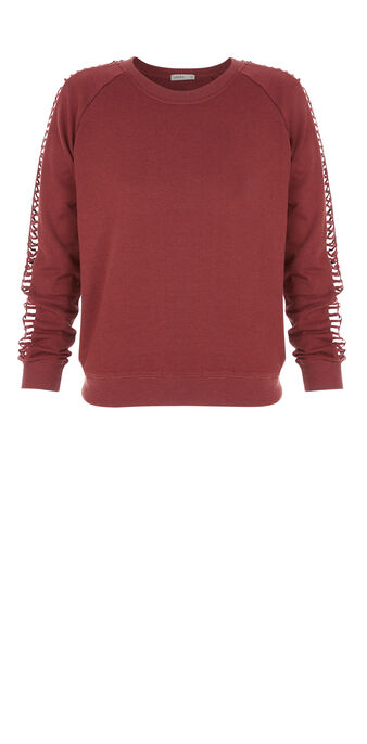 Macramiz plum sweatshirt purple.