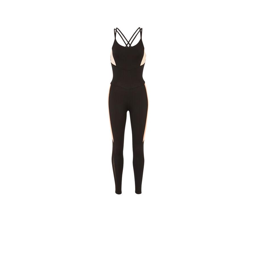 Combikiz black jumpsuit;