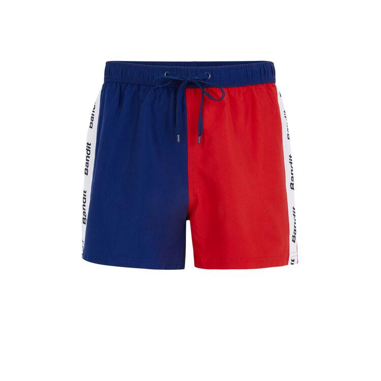 Biffranciz red swim shorts;