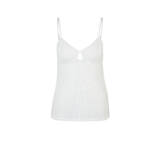 Tropaliz white top;
