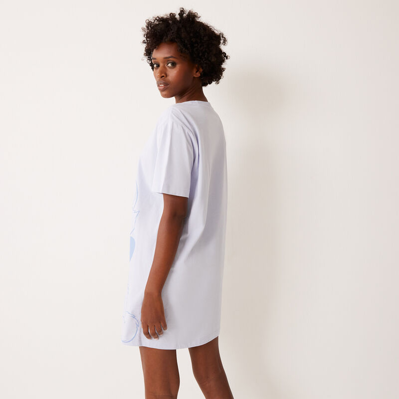 Marie des Aristocats print tunic - light blue;