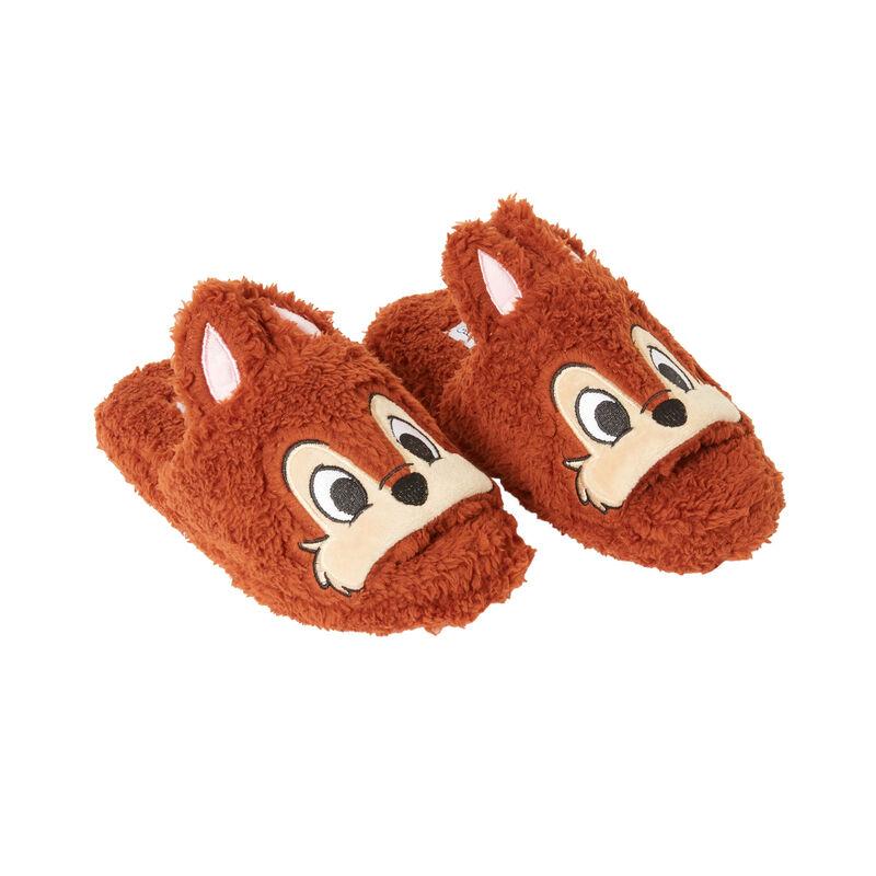 Chip 'n Dale slippers - tan;