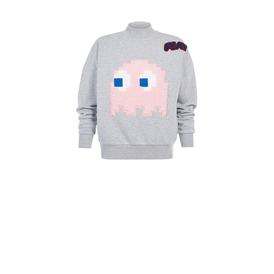 Aosukiz light grey sweatshirt;${refinementColor}