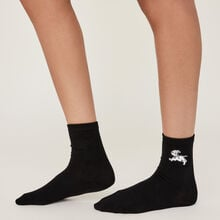 Dalmasiz black socks black.