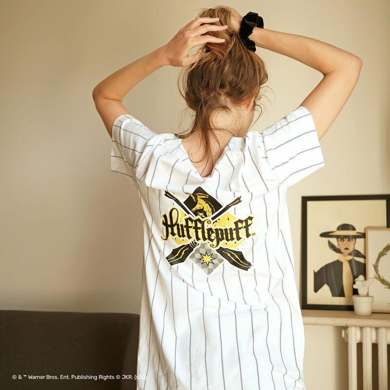 Hufflepuff striped tunic - white;