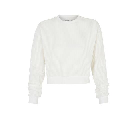 White chipitiz sweatshirt;