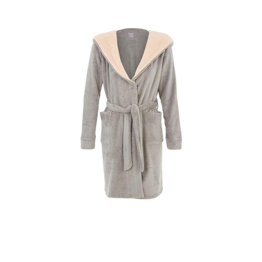 Pampamiz grey dressing gown;
