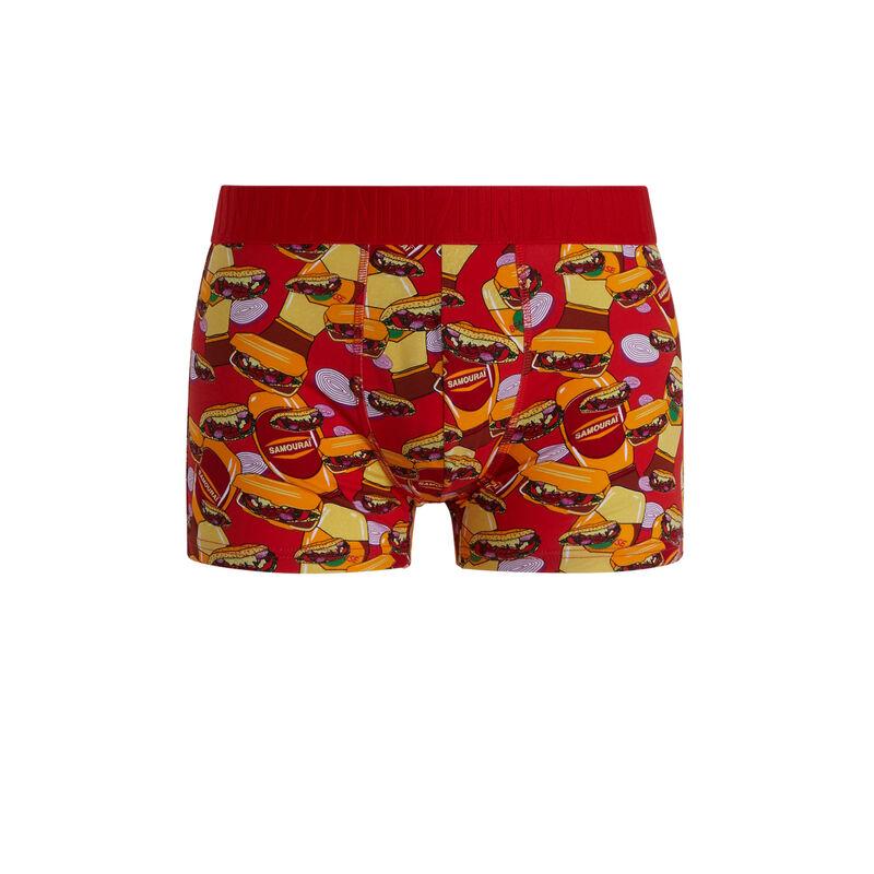 Kebabiz cotton boxers with print;