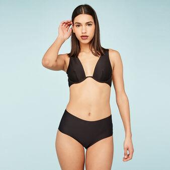 Wiriz black bikini top black.