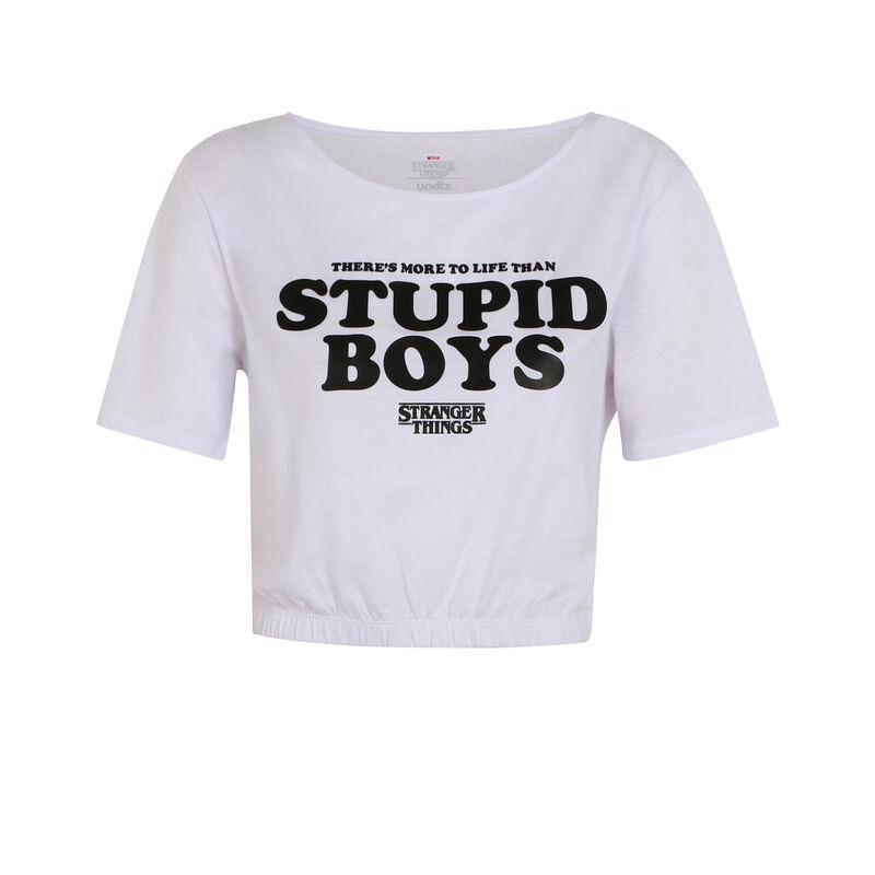 Stranger Things slogan T-shirt - white;