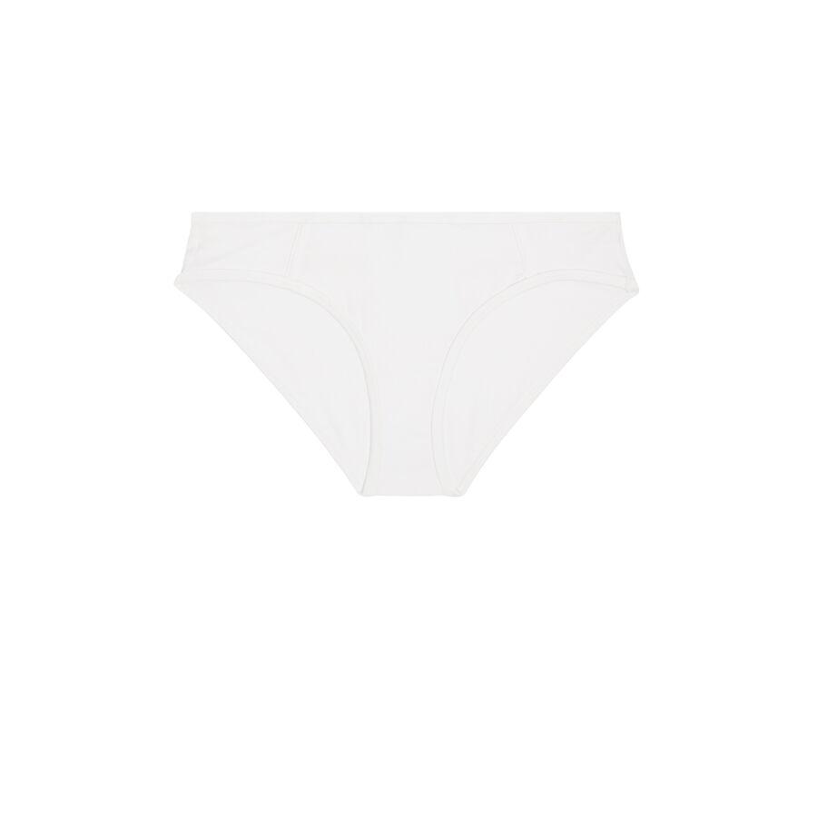 Белые хлопковые трусики-шорты jeunedemoisiz;
