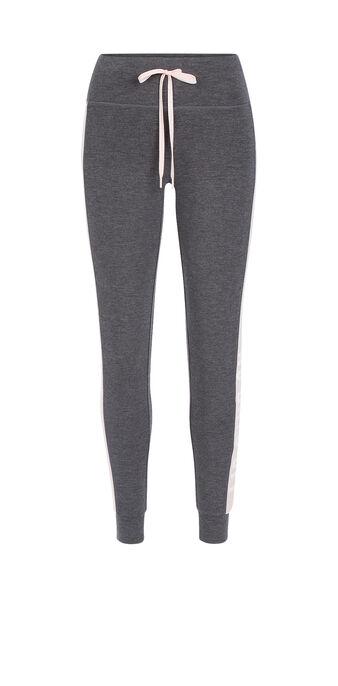 Legging de sport gris foncé loverunniz grey.