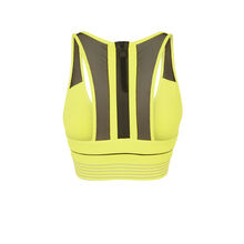Желтый флуоресцентный бюстгальтер-топ strongoiz yellow.