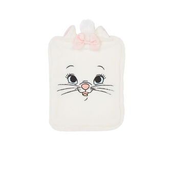 Supermariz white hot water bottle white.