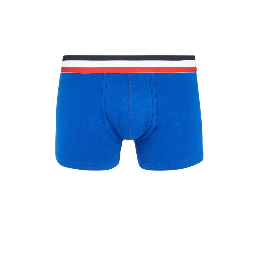 Oreliz blue boxers;