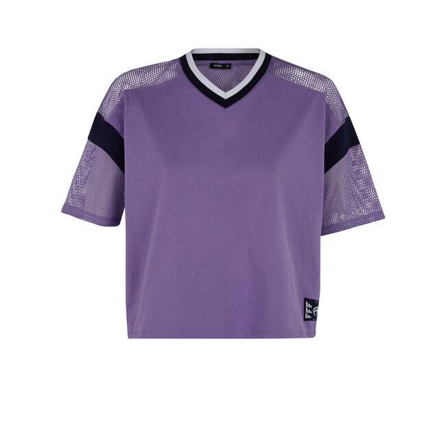 Purple girlmailliz top;