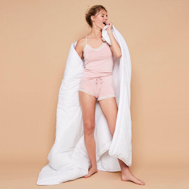 Vitamiz pale pink top;