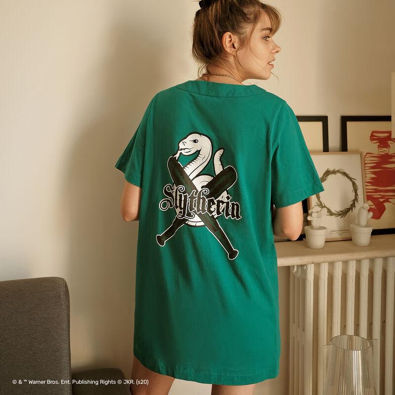 Slytherin tunic - green;