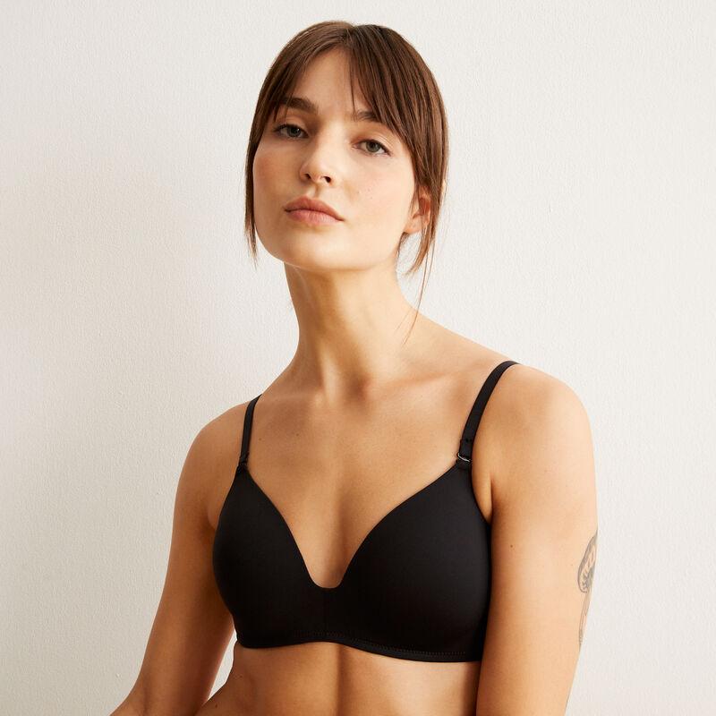 Micro padded bra;