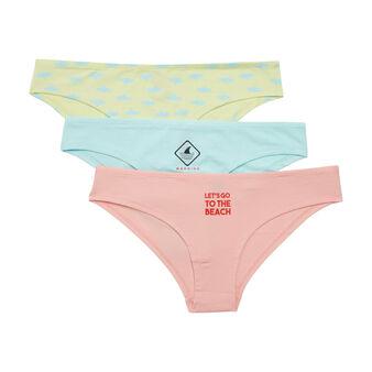Grabugiz pink underwear set pink.