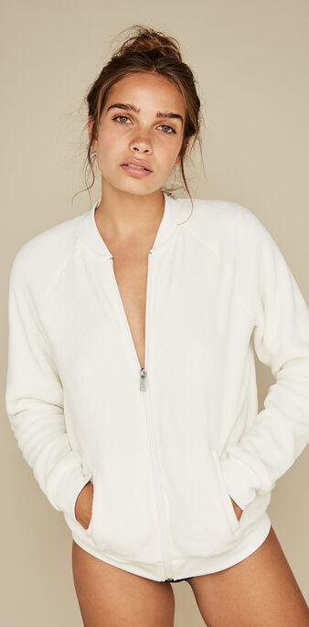 Бежевая куртка tutiliz white.