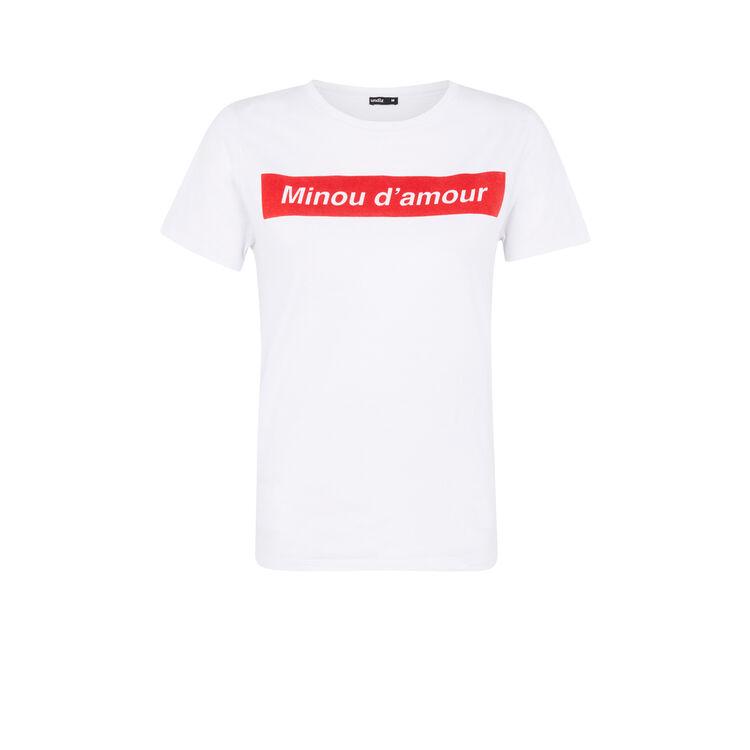 Minousiz white top;