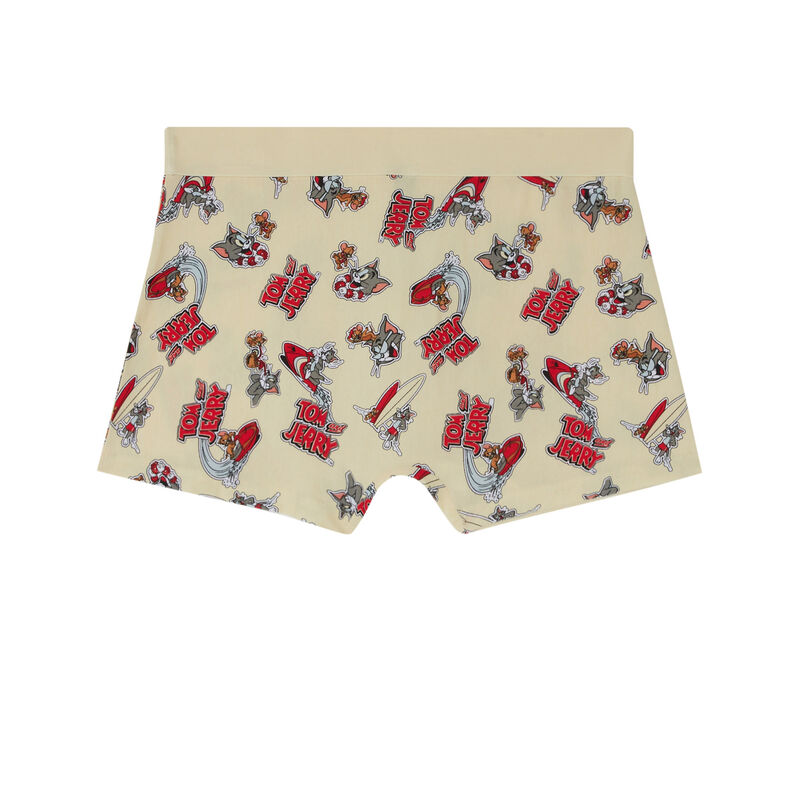Tom and Jerry boxers - off-white;